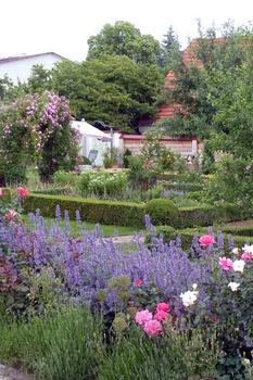 Ein romantischer Garten