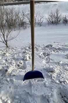 Richtig Schnee räumen