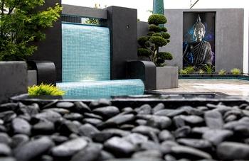 moderne Terrasse