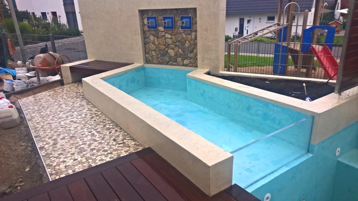 Kleiner Pool Simple Kleiner Pool Im Garten Header With