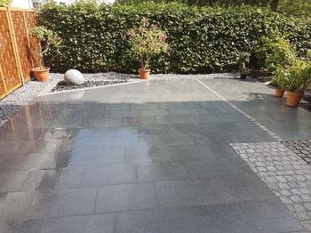 Granitplatten für schöne Terrassen