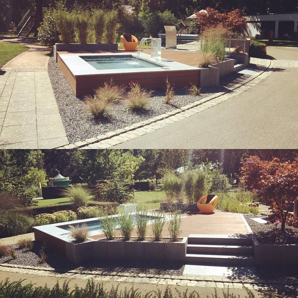 freudengarten mini teich auf terrasse balkon oder garten. Black Bedroom Furniture Sets. Home Design Ideas