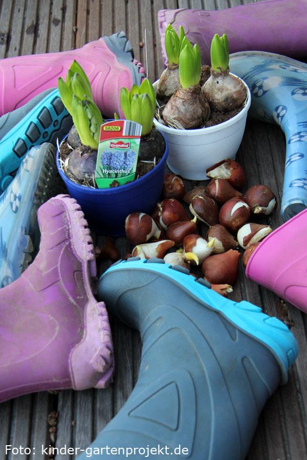 Gärtnern mit Kindern: Wir begrüßen den Frühling!