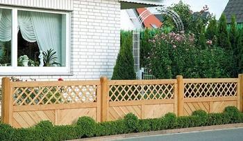 Gartenzäune aus Douglasie