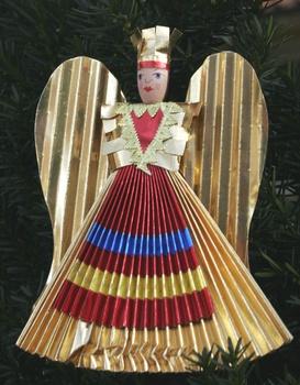 Nürnberger Weihnachtsbote: der Rauschgoldengel