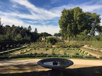 Rosengarten im Park Charlottenhof Potsdam