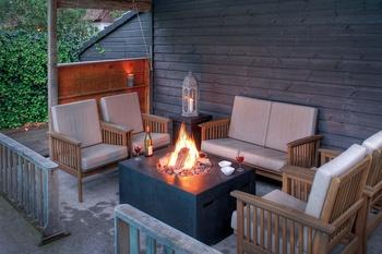 Feuertische für Terrasse und Garten