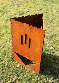 """Thorwa® Design Schwedenfeuer """"Rusty"""""""