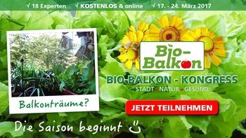Bio-Balkon Kongress - Macht die Städte grüner!
