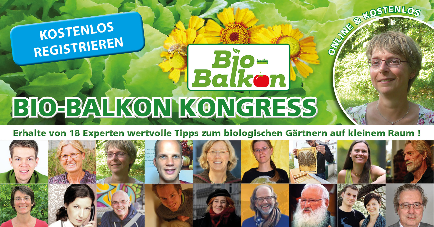 Aktuell: Bio-Balkon Kongress - 3880 Teilnehmer