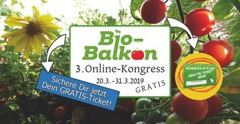 Einladung zum 3. Balkonkongress - im Internet
