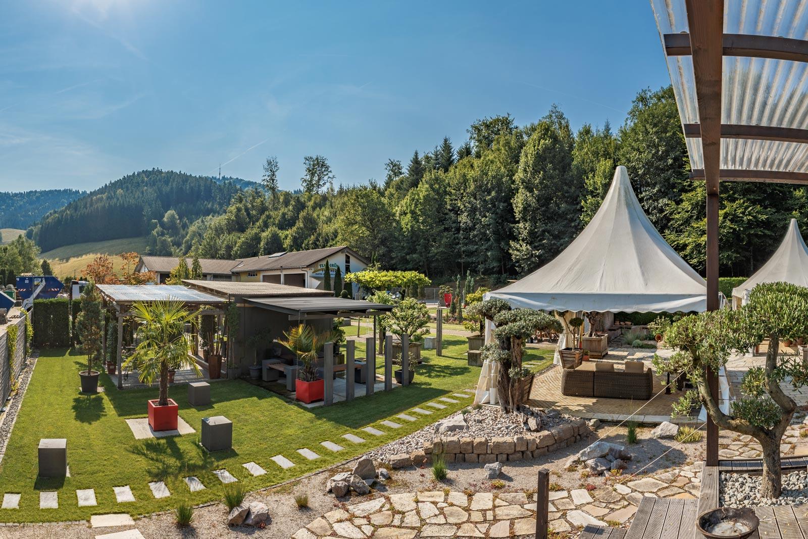 Gartenpark in Buchenbach