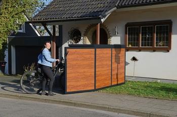 Fahrradboxen - Das Zuhause für Ihr Fahrrad / Element13