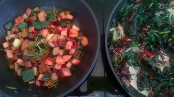 Selbstgeerntetes Gemüse delikat zubereiten