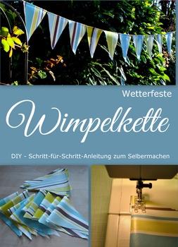 Wimpelkette DIY-Anleitung