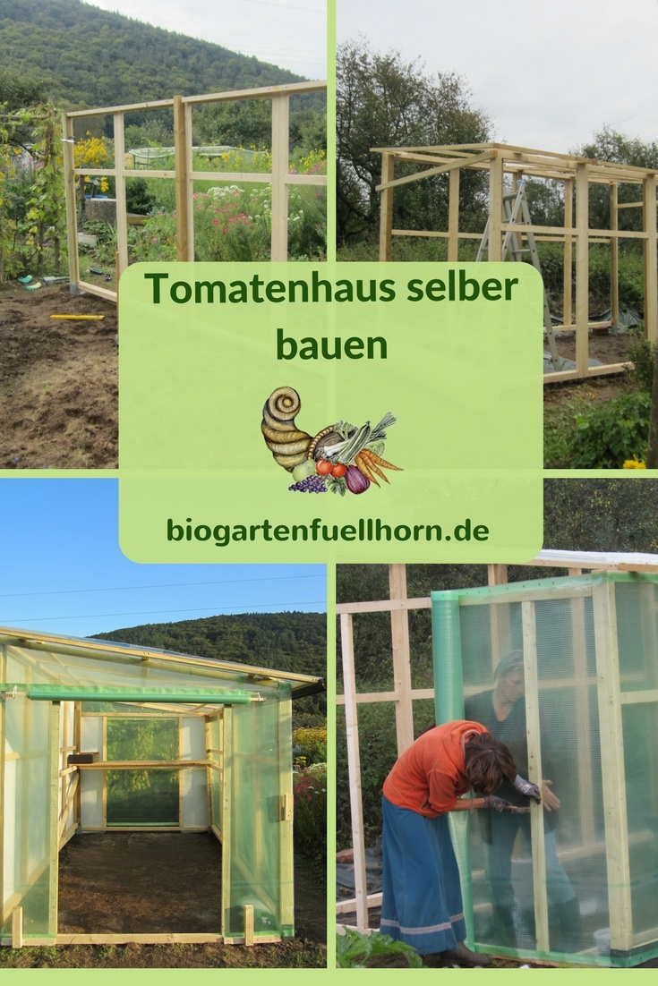 freudengarten ein tomatenhaus selber bauen. Black Bedroom Furniture Sets. Home Design Ideas