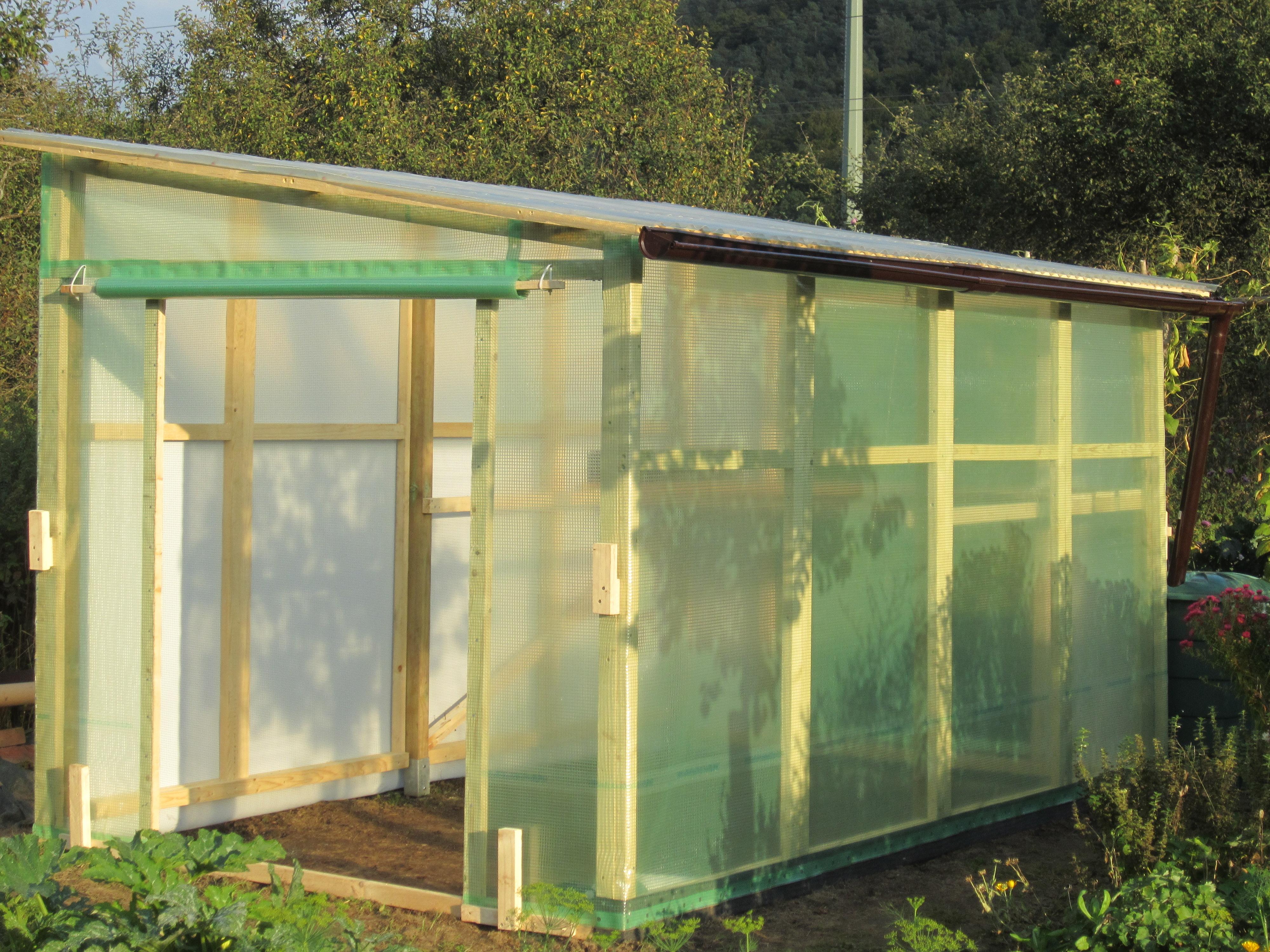 Ein Tomatenhaus selber bauen