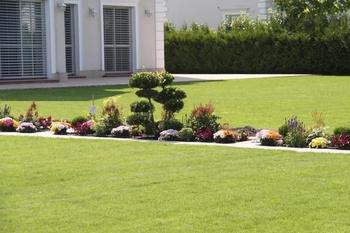 Pflege von Rasenflächen