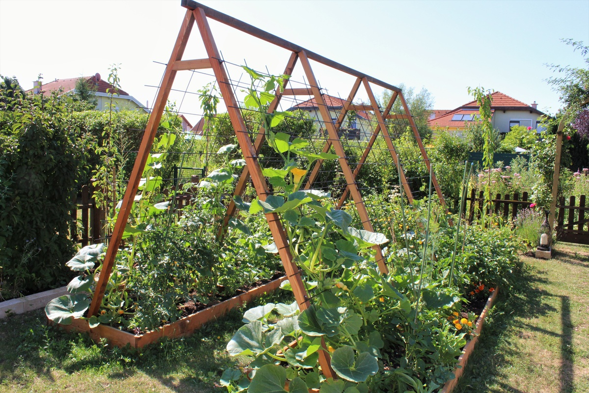freudengarten pflanztreppe selber bauen f rs vertical. Black Bedroom Furniture Sets. Home Design Ideas