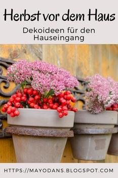 Herbst vor dem Haus: Dekoideen für den Hauseingang