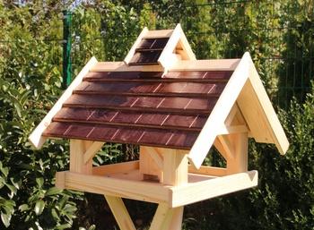Vogelhaus aus Vollholz