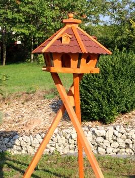 Der richtige Standort eines Vogelhauses