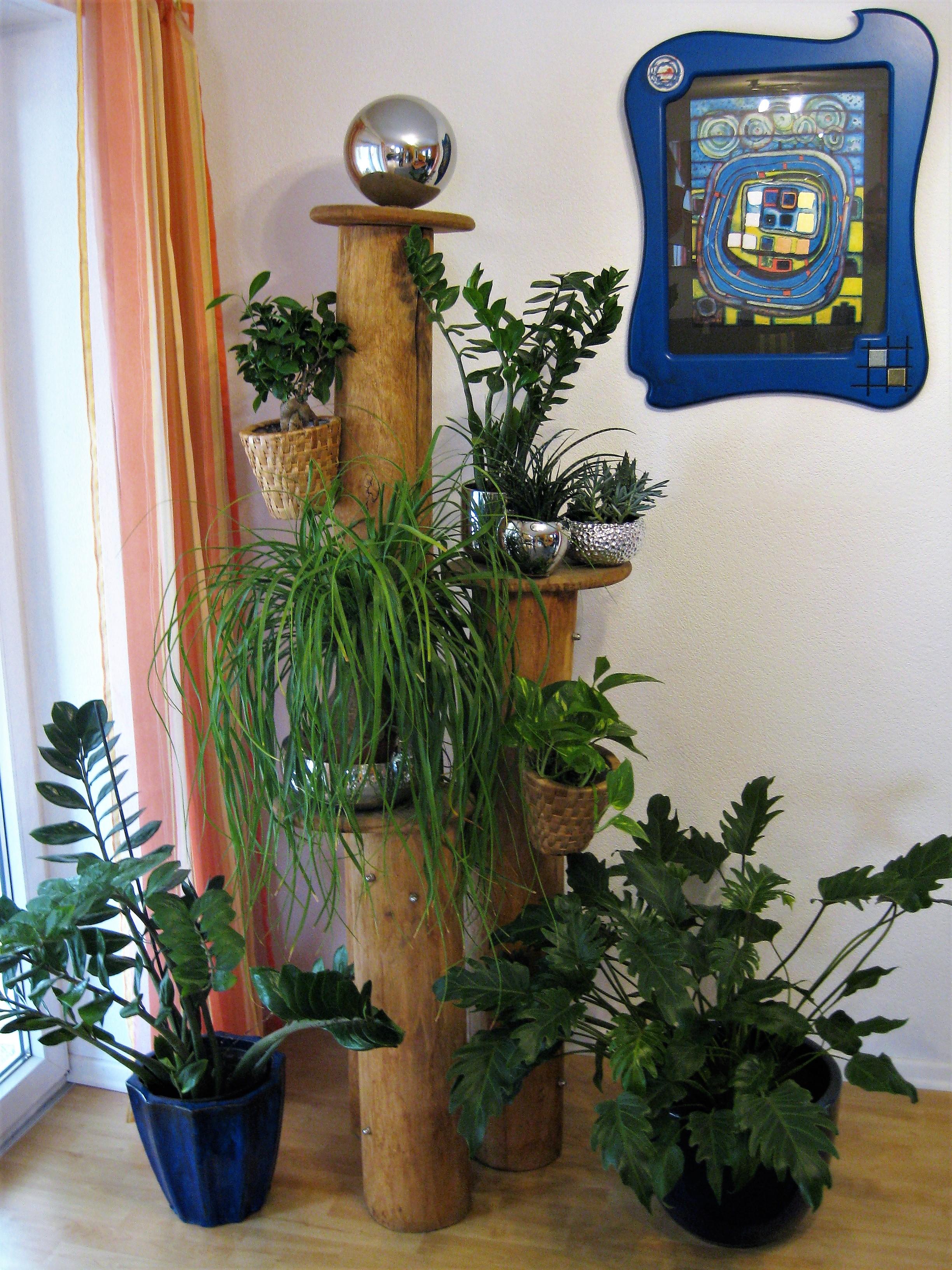 Katzenkratzbaum umfunktioniert