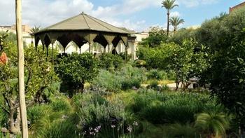 Der Secret Garden in Marrakesch ist ein islamischer Garten