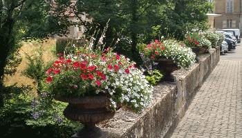 In Frankreich: Blühende Dörfer und Städte, die villes fleuries