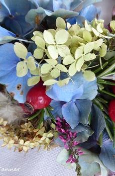 Herbstkranz - dekorieren mit den Schätzen aus Natur und Garten