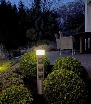 Strom im Garten - sicher, unauffällig aber auch schön