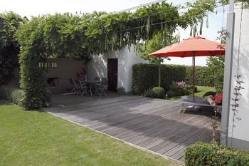 Moderner Garten in Mindelheim