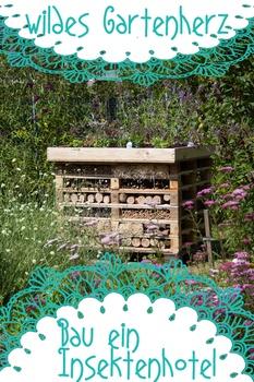 Insektenhotel aus Paletten bauen