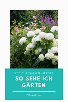 Offene Gärten - einen Besuch wert