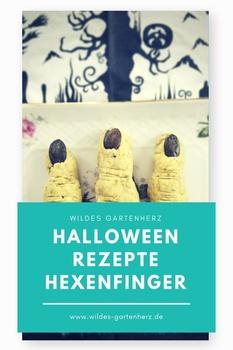 Halloween Rezepte - Hexenfinger