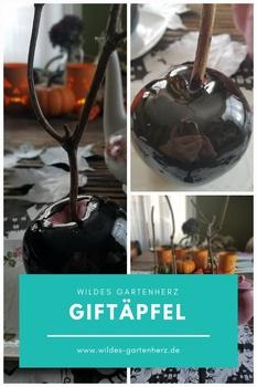 Halloween Rezept - Giftäpfel