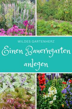 Einen Bauerngarten anlegen