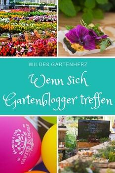 Wenn sich Gartenblogger treffen...