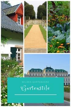 Gartenstile - Geschichte der Gartenkunst
