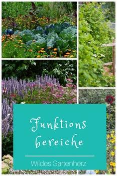 Funktionsbereiche im Garten definieren