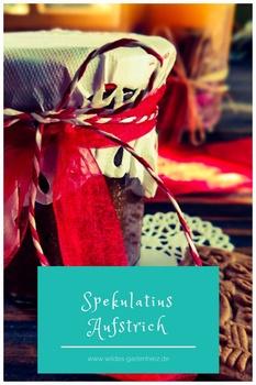 Weihnachtsgeschenk selber machen - Spekulatiusaufstrich