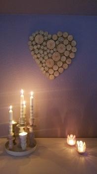 Geschenkidee für deine Frau - ein DIY Holzherz