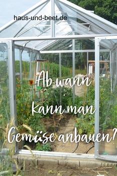 Ab wann kannst du Gemüse anbauen?