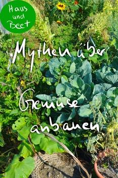 Mythen über Gemüse anbauen – Sie stimmen nicht!