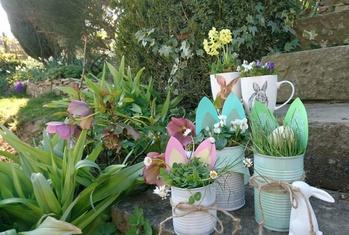 OsterBastelspaß für kleine Gärtner
